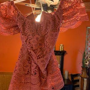 Tops - Crochet Off-the-Shoulder Top